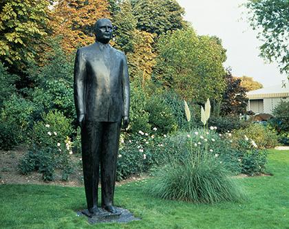 Hommage à Georges Pompidou (Louis Derbré)