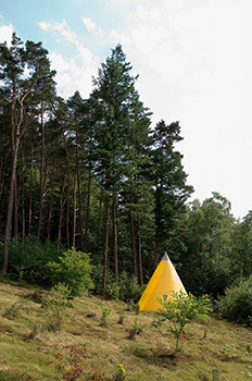 Pavillons éducatifs - Les trois modules de l'île de Vassivière (Hans-Walter Müller)