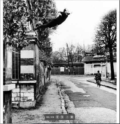 Le Saut dans le vide (Yves Klein)