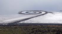 Spiral Jetty (Robert Smithson)