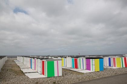Couleurs sur la plage (Karel Martens)
