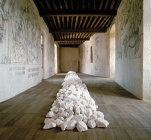 Rochechouart Line (Richard Long)