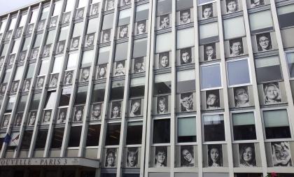Inside Out Project-(rue de Santeuil, Paris, France) (JR)
