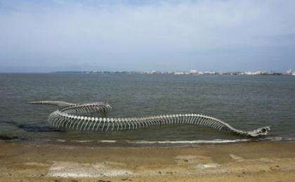 Serpent d'océan (Huang Yong Ping)