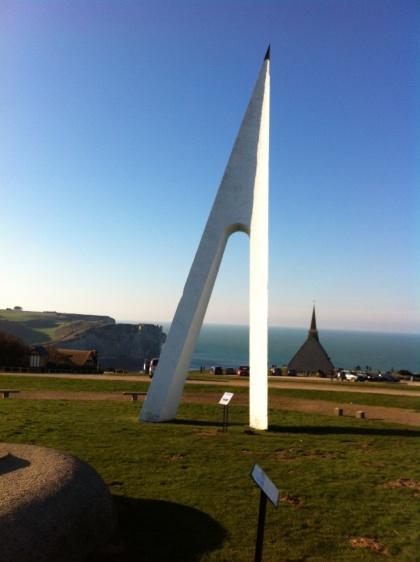 Le nouveau monument Nungesser et Coli (Gaston-Henri Delaune)